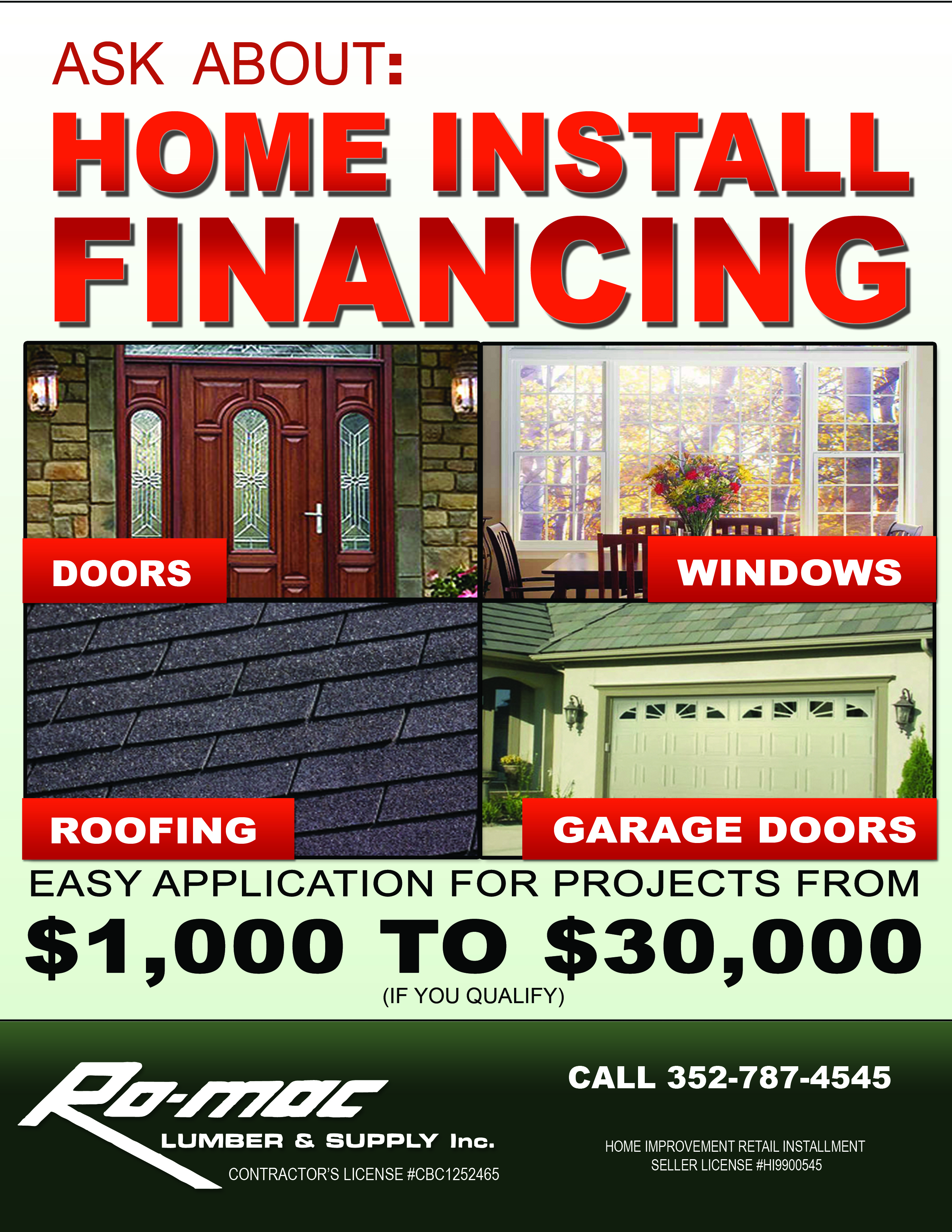 Home Install Financing